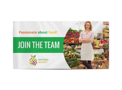 Join The Team Banner Template