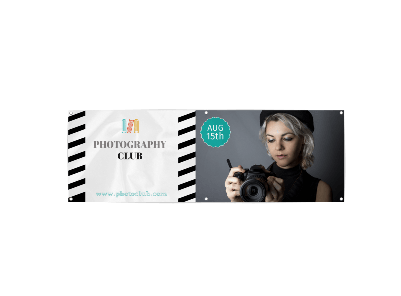 School Photography Club Banner Template Preview 1