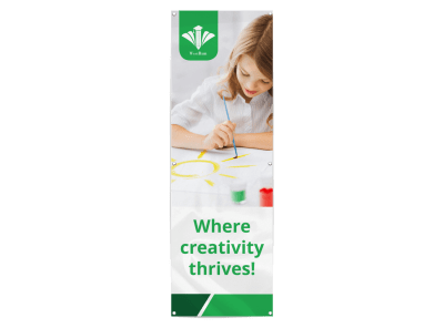Preschool Banners Template Preview