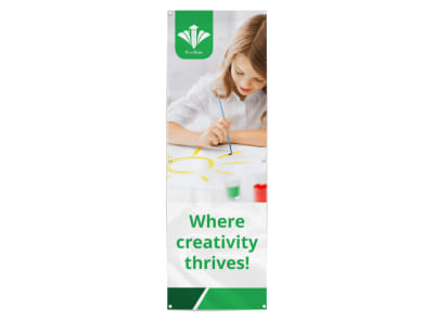 Creative Preschool Banner Template