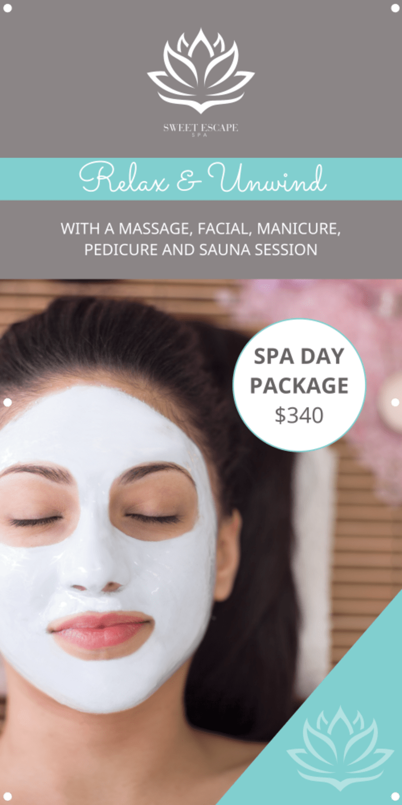 Relax Spa Banner Template Preview 2