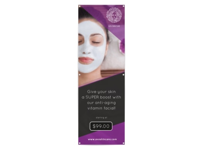 Spa Skin Facial Banner Template preview