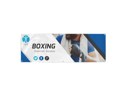 Boxing Banner Template