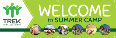 Summer Camp Welcome Banner Template Preview 1