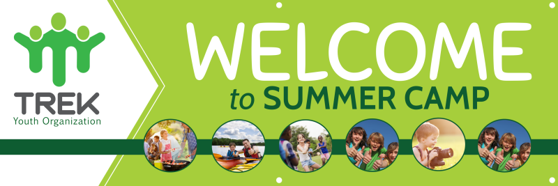Summer Camp Welcome Banner Template Preview 2