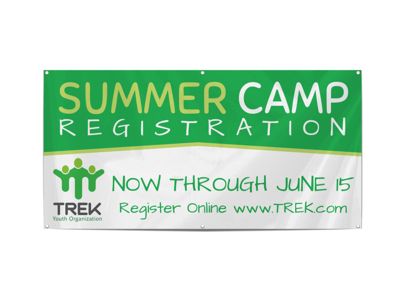 Awesome Summer Camp Banner Template Preview 1