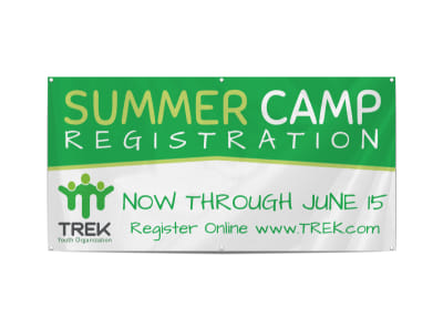 Awesome Summer Camp Banner Template preview