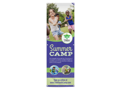 Summer Camp Banners Template Preview