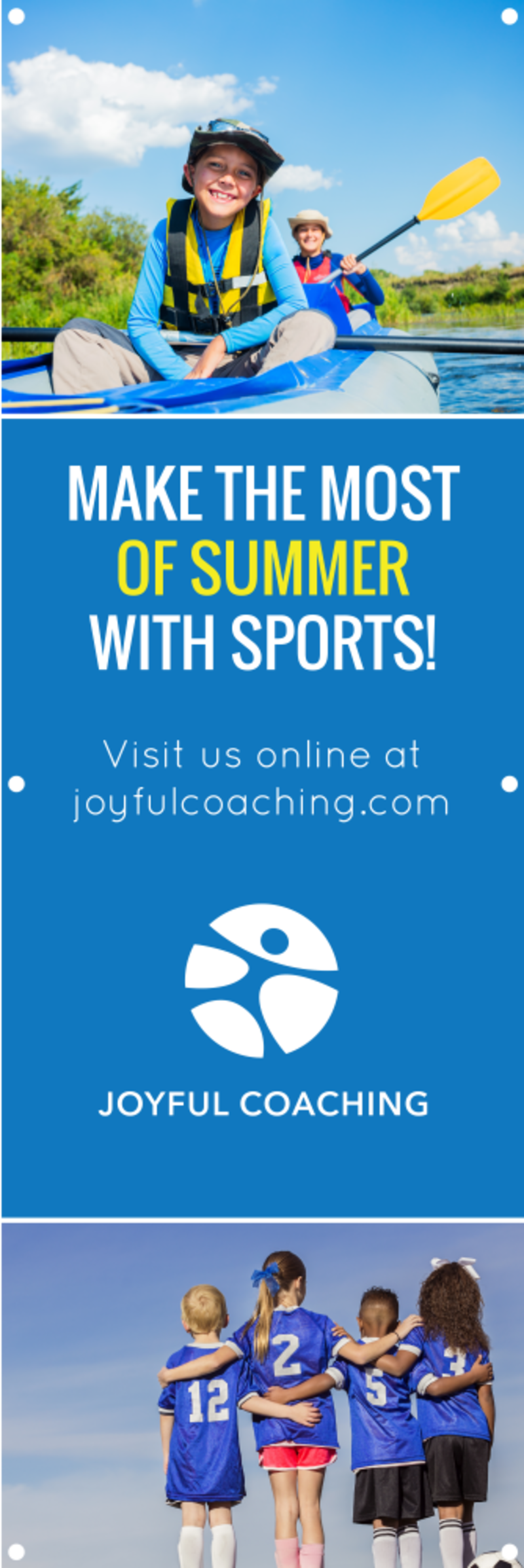 Summer Sports Camp Banner Template Preview 2