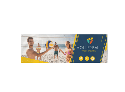 Volleyball Banners Template Preview