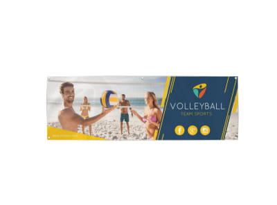 Beach Volleyball Banner Template