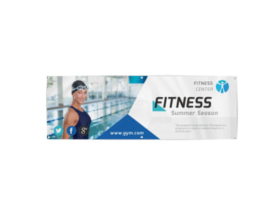 Fitness Banner Template preview