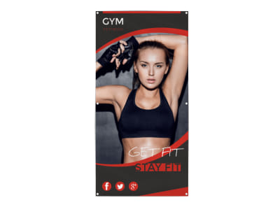 Stay Fit Banner Template preview