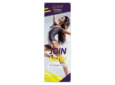 Get In Shape Banner Template preview