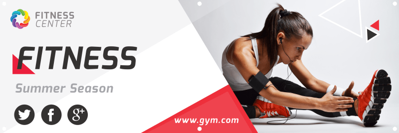 Gym Banner Template Preview 2
