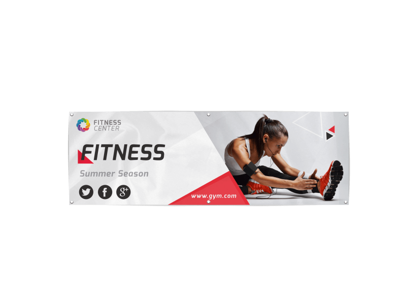 Gym Banner Template Preview 1
