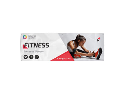 Gym Banner Template preview