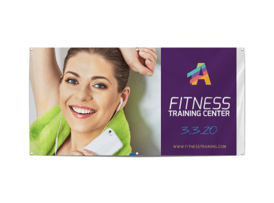 Fitness Banner Templates Template Preview