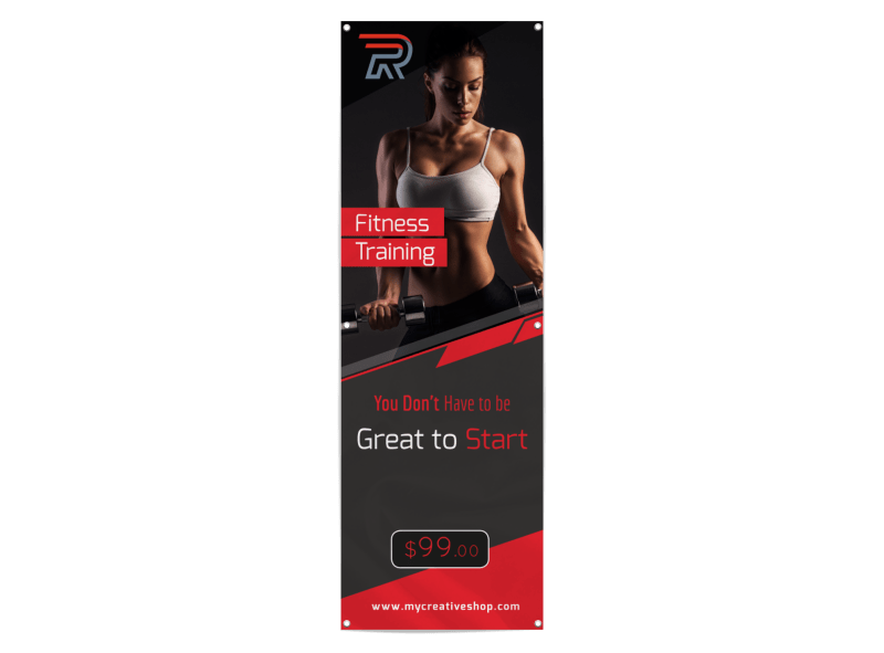 Fitness Training Banner Template Preview 1