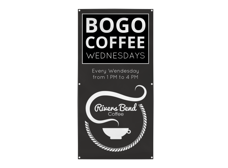 Bogo Coffee Banner Template Preview 1