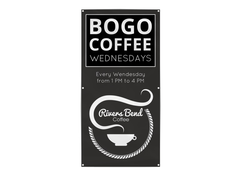 Bogo Coffee Banner Template Preview 3