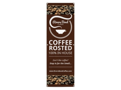 Roasted Coffee Banner Template preview