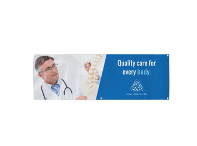 Chiropractic Banner Template preview
