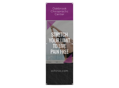 Chiropractic Center Banner Template preview