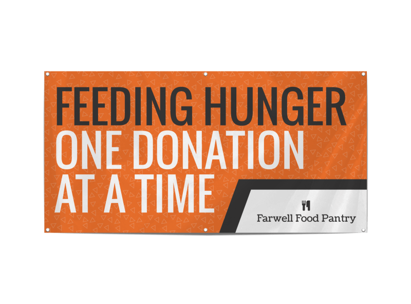 Feeding Hunger Banner Template Preview 1