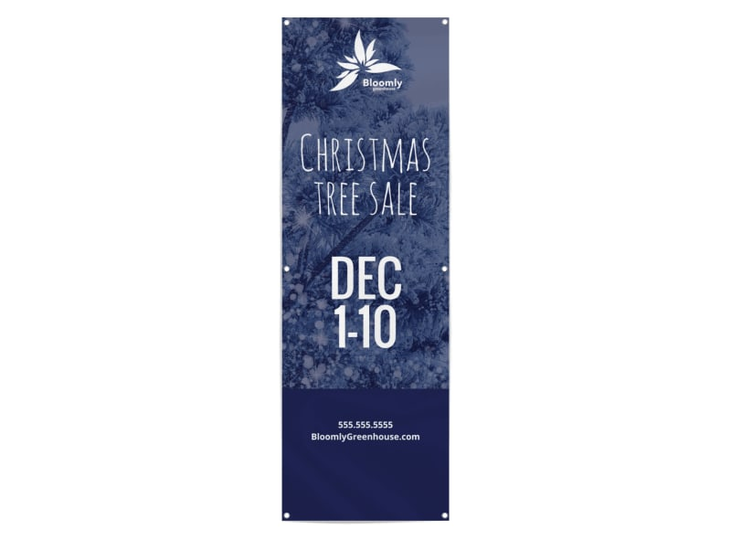 Christmas Tree Sale Banner Template