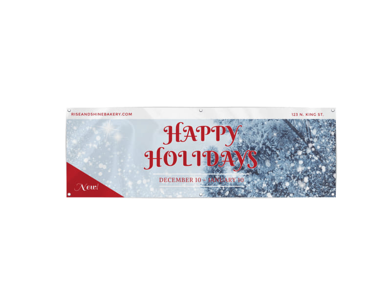 Happy Holidays Banner Template Preview 3