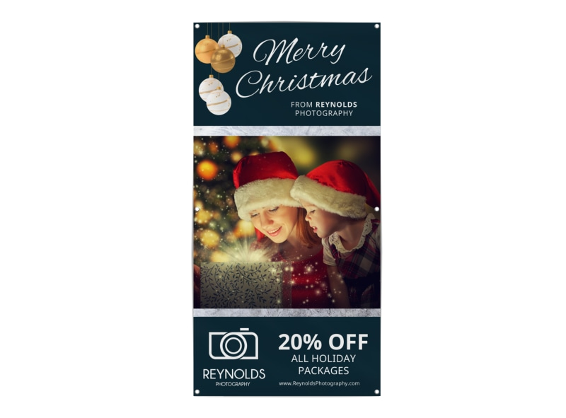 Merry Christmas Banner Template Preview 3