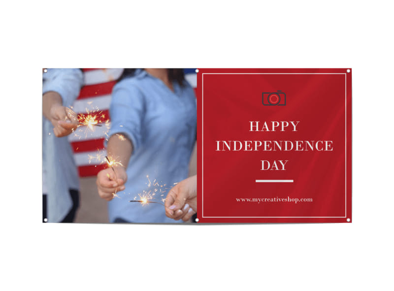 Happy Independence Day Banner Template Preview 3