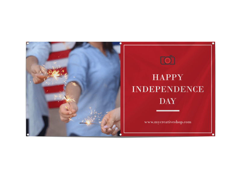 Happy Independence Day Banner Template Preview 1