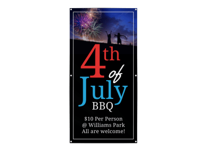 4th Of July Banners Template Preview