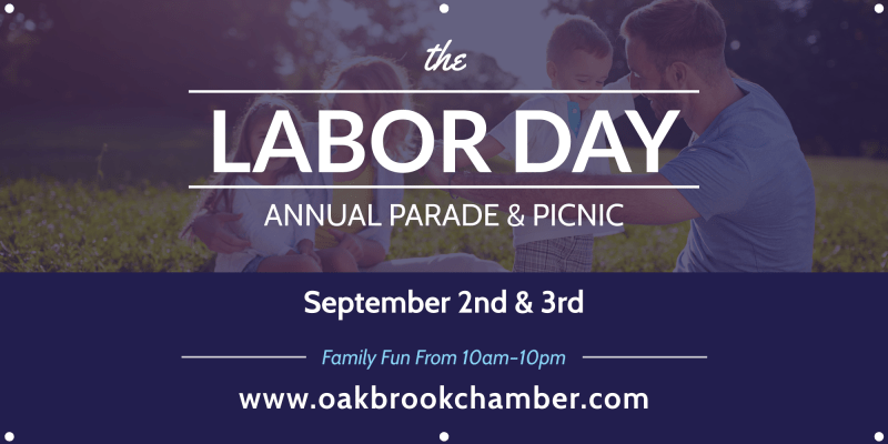 Labor Day Annual Parade Banner Template Preview 2