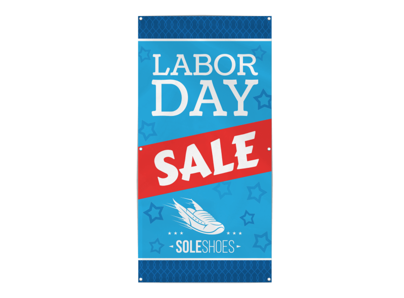 Labor Day Sale Banner Template Preview 1