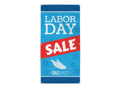 Labor Day Sale Banner Template preview