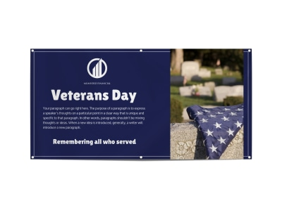 Veterans Day Special Banner Template preview
