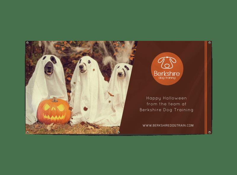 Happy Halloween Pet Banner Template Preview 1
