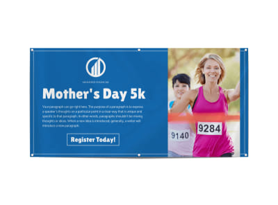 Mother's Day 5k Banner Template preview