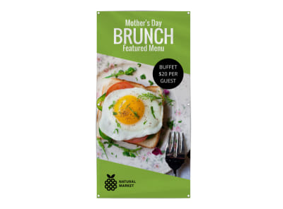 Mother's Day Brunch Banner Template