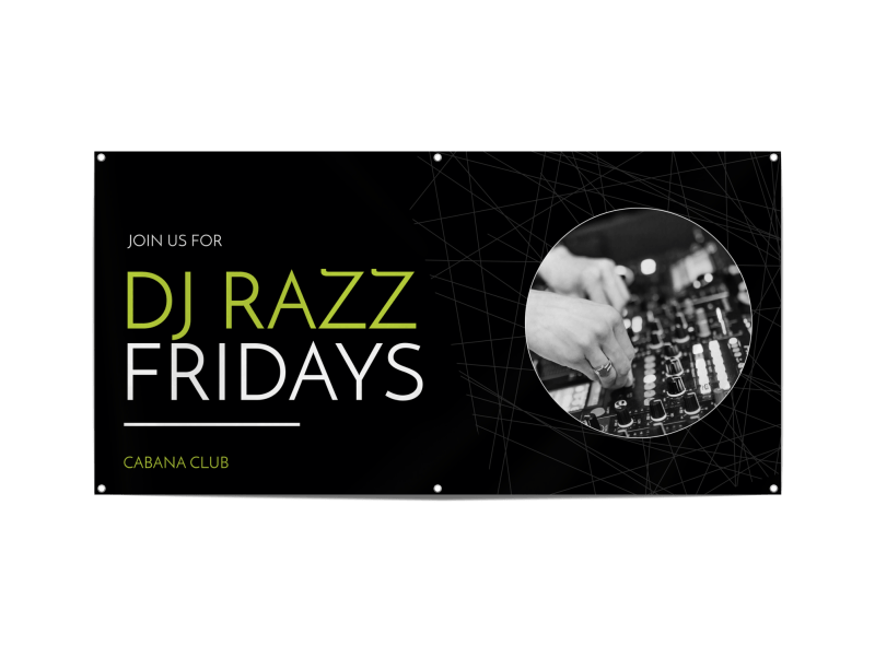 Friday DJ Banner Template Preview 1