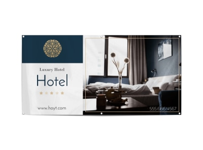 Luxury Hotel Banner Template preview