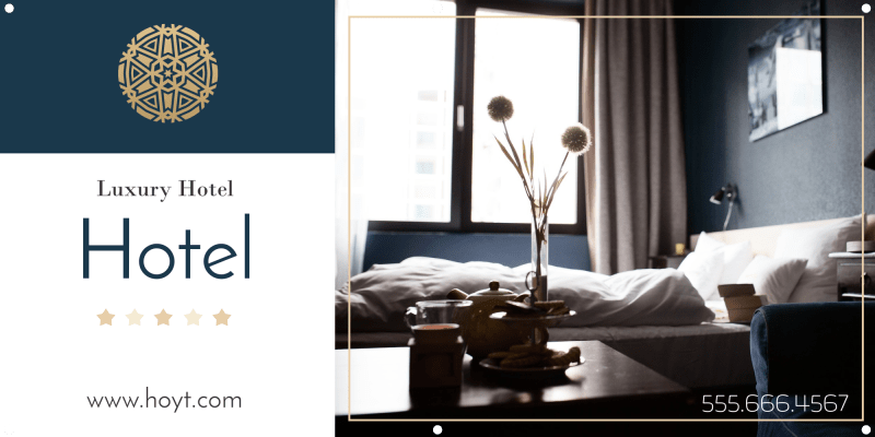 Luxury Hotel Banner Template Preview 2