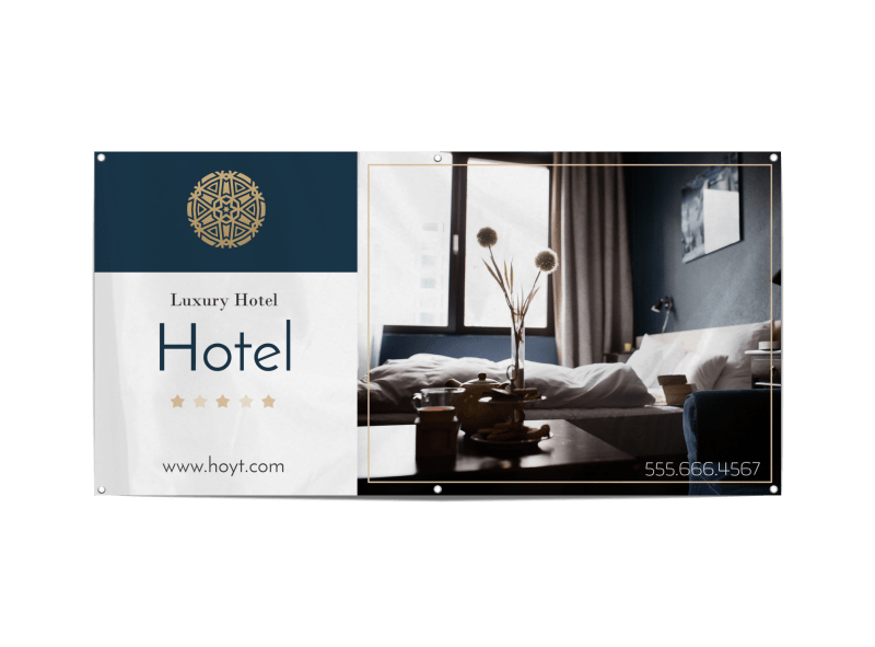 Luxury Hotel Banner Template Preview 1