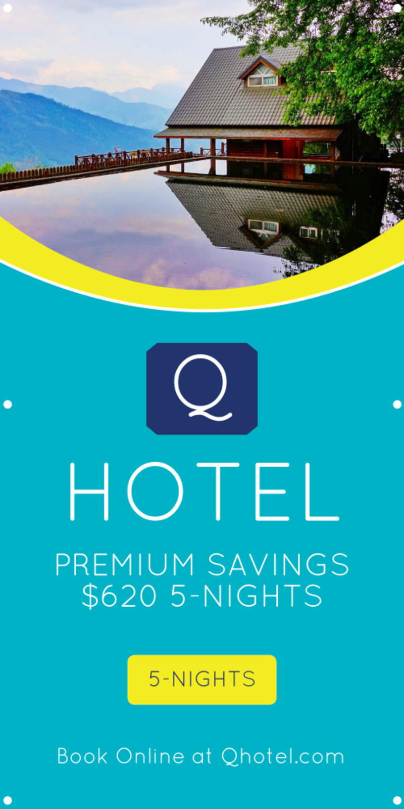 Hotel Special Offer Banner Template Preview 2