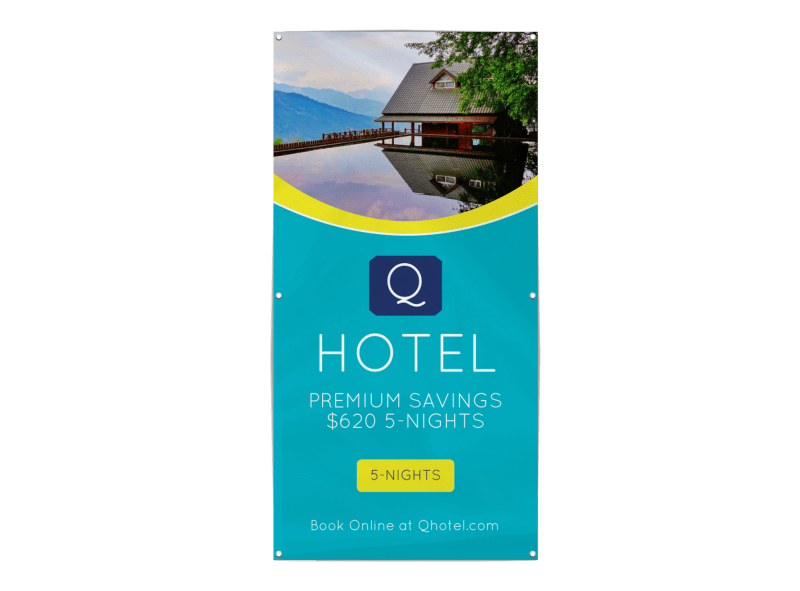 Hotel Special Offer Banner Template Preview 1