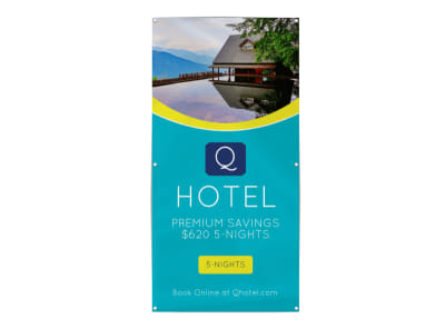 Hotel Special Offer Banner Template preview