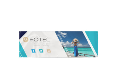 Hotel Banner Template preview